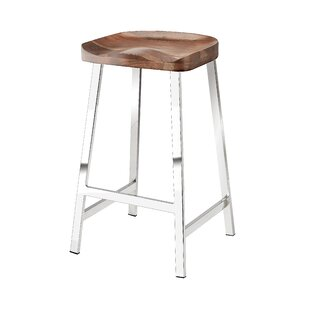 Lockman 26 Bar Stool (Set of 2) Ivy Bronx