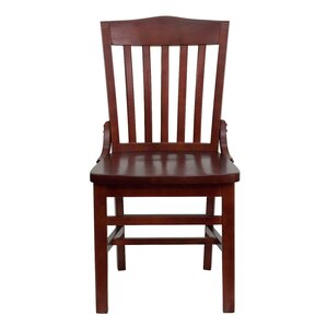 Orlison School House Back Solid Wood Dining Chair by Red Barrel Studio