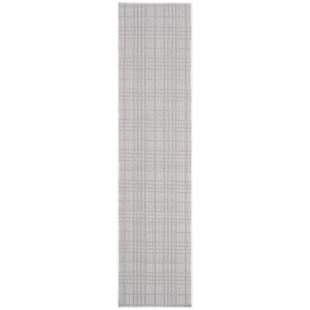 Hahn Light Gray/Blue Indoor/Outdoor Area Rug