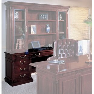 Sadye Traditional Wood Executive Desk by Canora Grey Sale