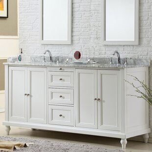 Read Reviews Medfield Double Vanity Set By Charlton Home