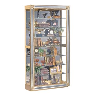 Reflection Lighted Curio Cabinet