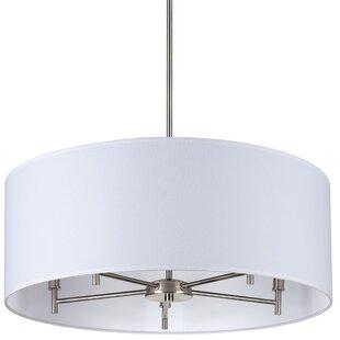 drum light chandelier. Walker 5-Light Chandelier Drum Light