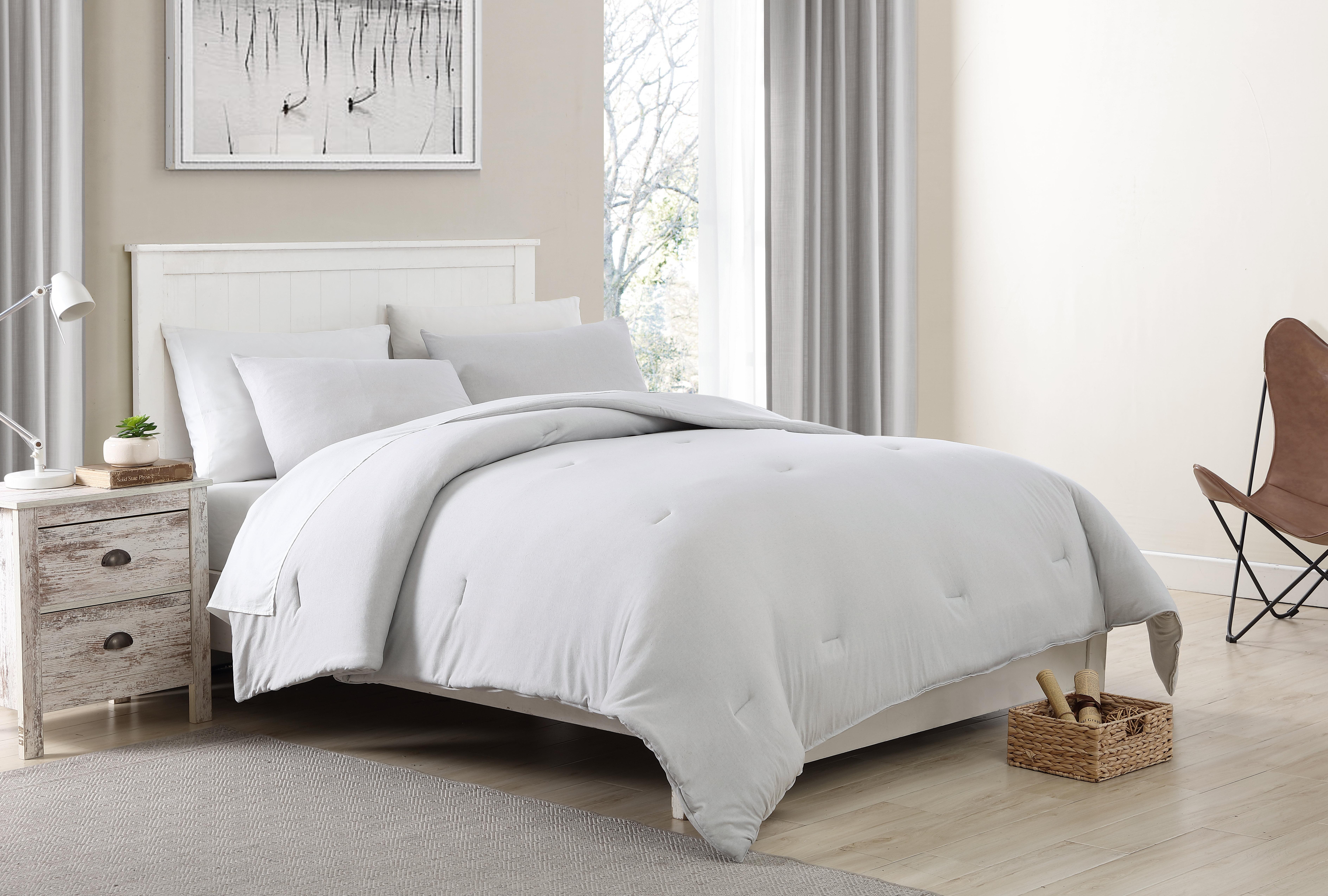 MH Design Cotton Blend Heather Jersey Sheet Set