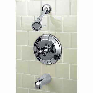 Duchess Tub and Shower Faucet Kingston Brass