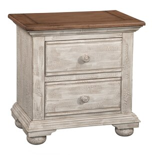 Wabansia 2 Drawer Nightstand