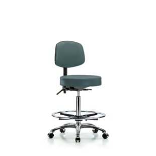 Ben High Bench Height Adjustable Lab Stool