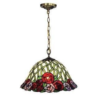 Person Rose 1-Light Bowl Pendant by Astoria Grand