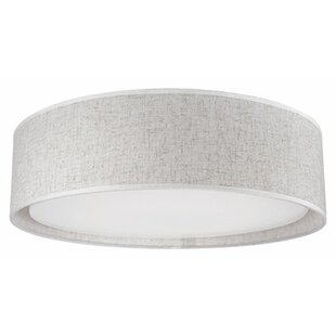 Inexpensive Heather 1-Light Flush Mount By Radionic Hi Tech