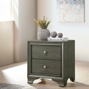 Hebb Wooden 2 Drawer Nightstand by Red Barrel Studio Discount