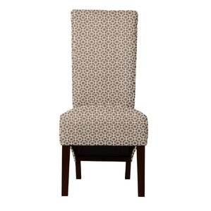 Keyesport Geometric Parsons Chair (Set of 2) by Red Barrel Studio