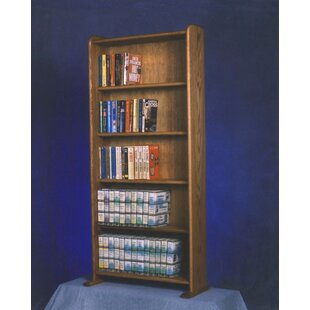 Wood Shed 500 Series 200 DVD Multimedia Storage Rack