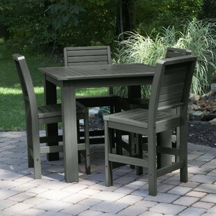 Darby Home Co Berry 5 Piece Bar Dining Set