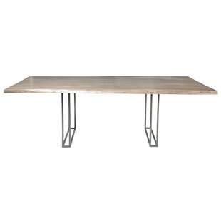 17 Stories Ashly Live Edge Dining Table
