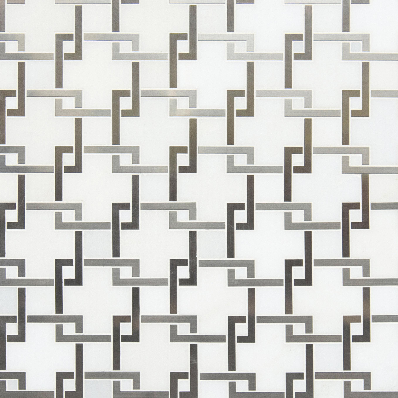 Unique floral Mosaic Tiles Square 4 DESIGN Pattern Mosaic Tiles Pretty and Dainty