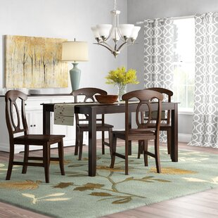 Braselton 5 Piece Dining Set Charlton Home