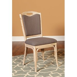 Reatha Upholstered Fabric Dining Chair (Set of 2) by Ophelia & Co.