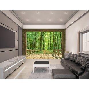 Superior Woodland Forest 8u0027 X 120u0027u0027 Wall Mural