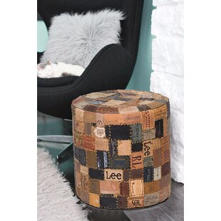 Noemi Rounded Pouf by Millwood Pines