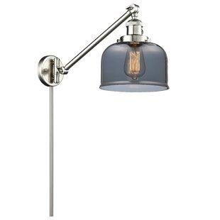 17 Stories Emberto Bell 1-Light Swing Arm