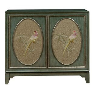 Bay Isle Home Callahan Fabric Panel Bar Cabinet
