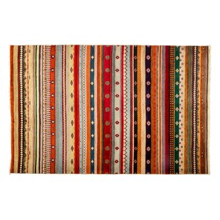 Bargain One-of-a-Kind Lori Hand-Knotted Multicolor Area Rug By Darya Rugs
