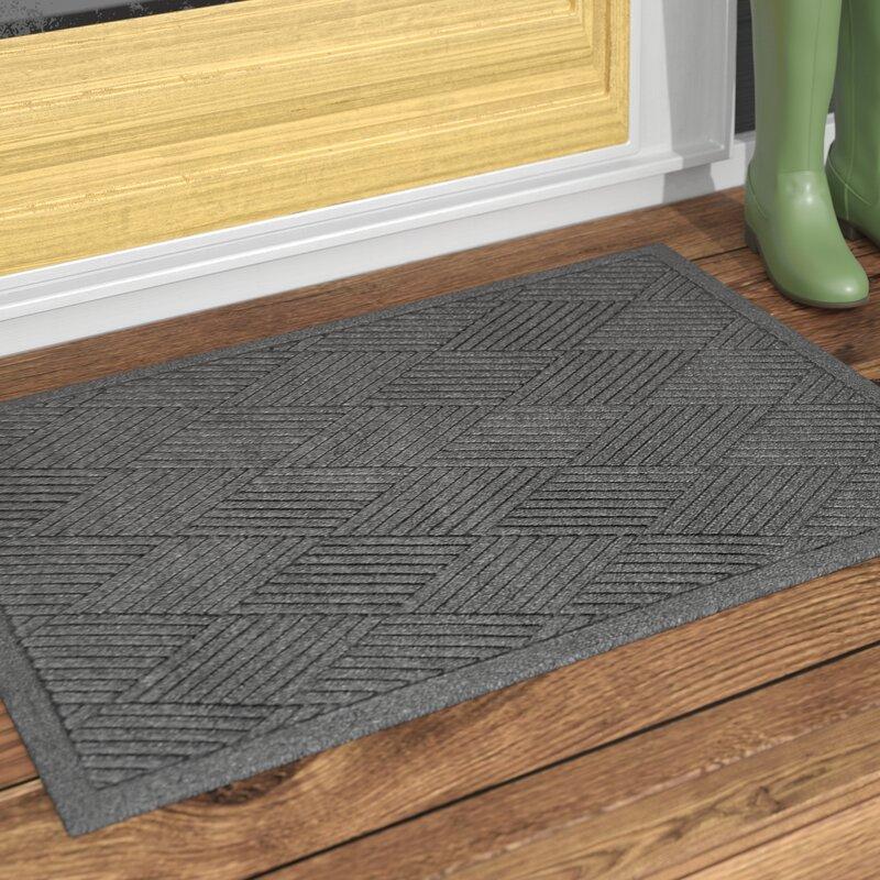 Rebrilliant Diamond Non Slip Indoor Outdoor Door Mat Reviews Wayfair