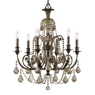 Astoria Grand Suniga 6 Light Crystal Cand..