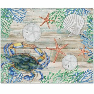 Sea Life Glass Cutting Board