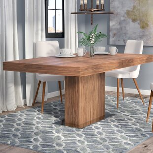 Melfa Extendable Dining Table Wade Logan
