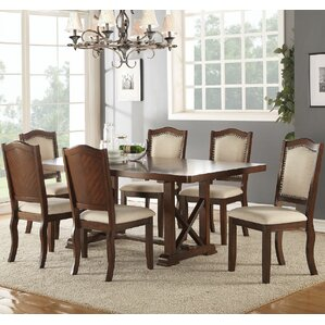 Chevaliers 7 Piece Dining Set by Canora Grey