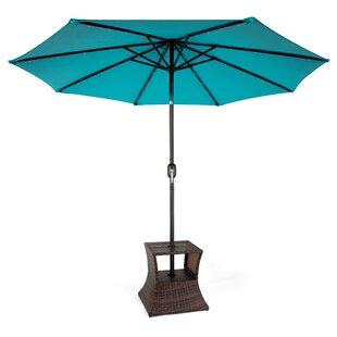 Lininger Square PE Rattan Umbrella Stand