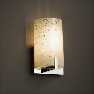Brayden Studio Luzerne 1-Light Armed Sconce