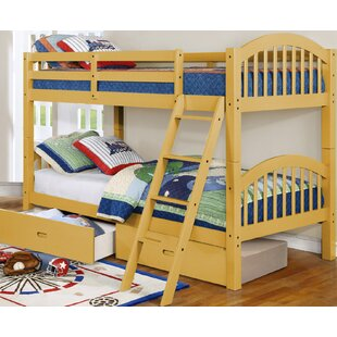 Find for Jaylyn Twin over Twin Bunk Bed with Drawers by Harriet Bee Reviews (2019) & Buyer's Guide