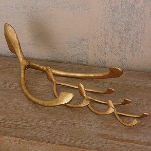 Brayden Studio Bauder Wish Paperweight Leaf