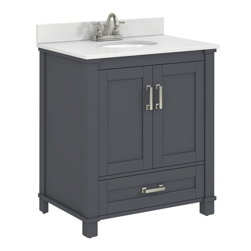 Pleasing Freestanding Style 30 Single Sink Bathroom Vanity Base Only Download Free Architecture Designs Grimeyleaguecom