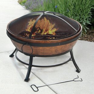 DeckMate Avondale Steel Wood Burning Fire..