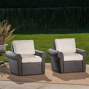 Darby Home Co Singh Patio Chair with Cush..