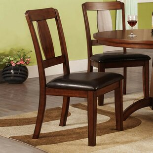 Antonio Upholstered Dining Chair (Set of 2) Alcott Hill