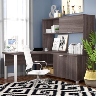 Heyworth 3-Piece L-Shape Desk Office Suite