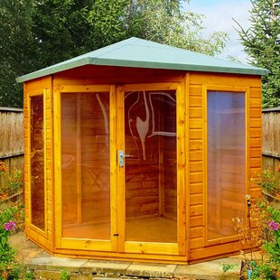 Naswith 8 X 8 Ft. Shiplap Summer House By Sol 72 Outdoor