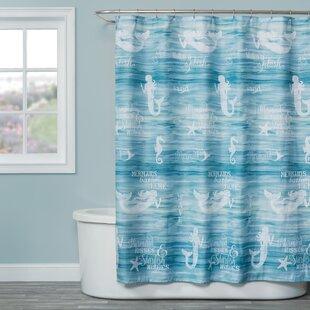 John Fabric Single Shower Curtain