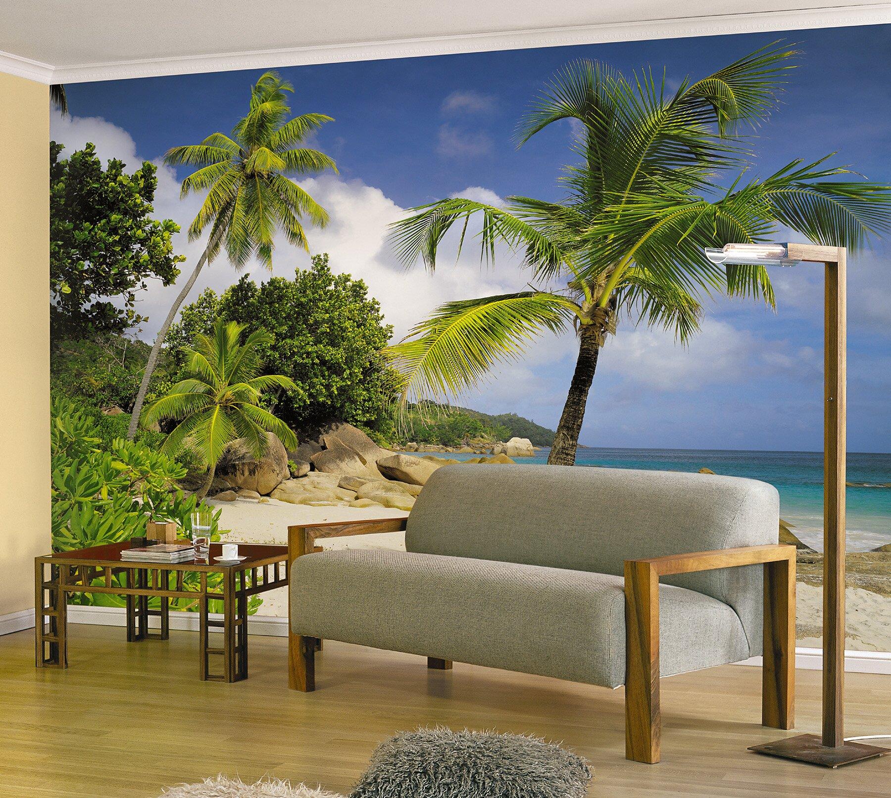 Ebern Designs Wilhelm Praslin Wall Mural Reviews Wayfair