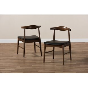Carrizales Dining Chair (Set Of 2) by George Oliver 2019 Coupon