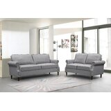 Aariv 2 Piece Standard Living Room Set by Red Barrel Studio®