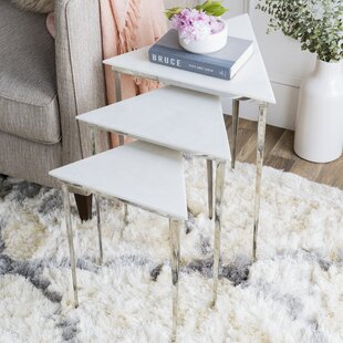 Arianna Nesting Tables (Set Of 3) by Orren Ellis Fresh