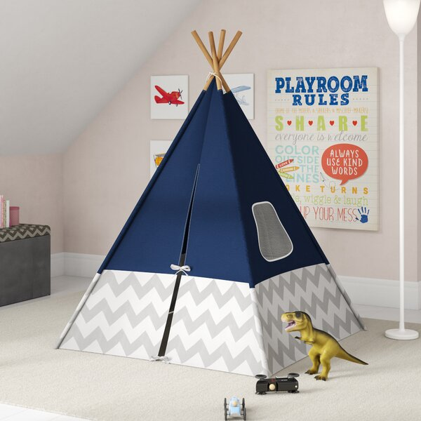 Schlick Chevron Pop-Up Play Teepee