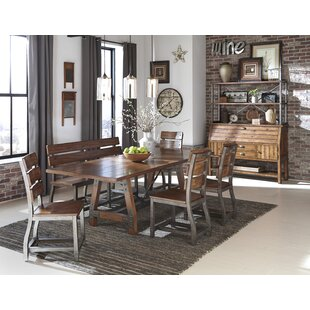 Millwood Pines Liam Extendable Dining Table