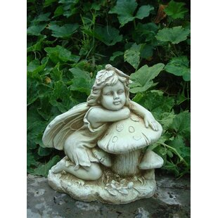 Gabriel Fairy On Toadstool Statue By Sol 72 Outdoor