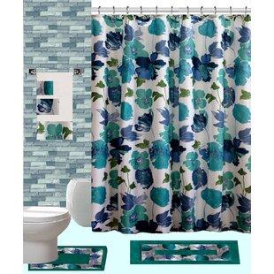 Great Price 18 Piece Shower Curtain Set ByDaniels Bath
